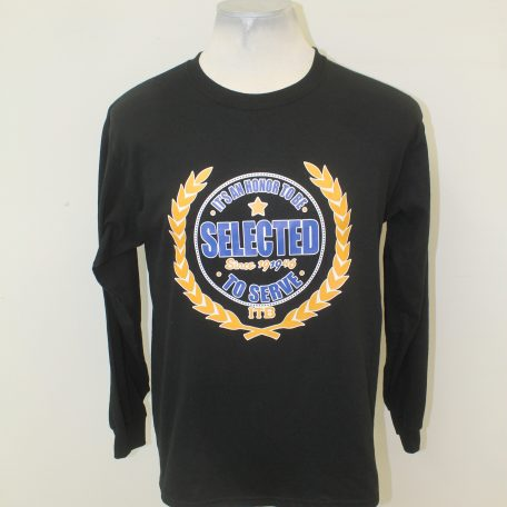 ITB (TBS/KKPsi) Black Long Sleeve Service Tee