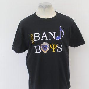 """Kappa Kappa Psi """"Band Boys"""" Black Tee"""