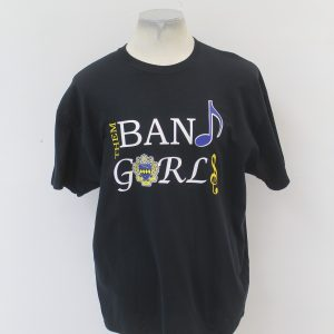 "Tau Beta Sigma ""Band Girls"" Black Tee"