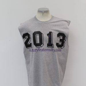 Kappa Lambda Chi Gray Sleeveless 2013 shirt