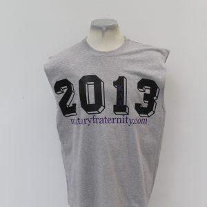 Kappa Lambda Chi Gray Sleeveless 2013 shirt