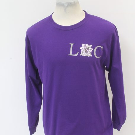 Kappa Lambda Chi Purple Long Sleeve Loc design