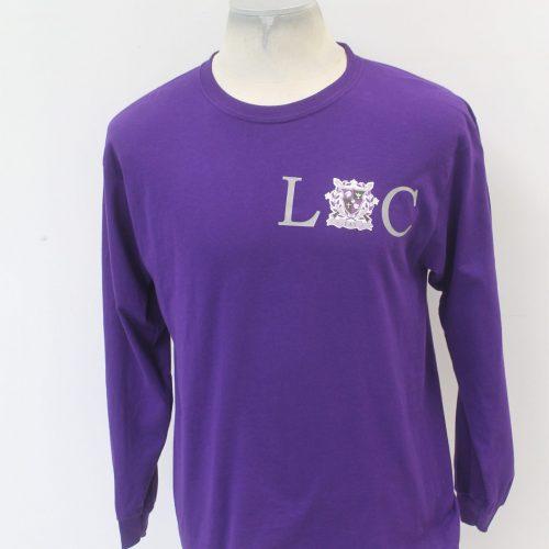 Kappa Lambda Chi Purple Long Sleeve Loc design