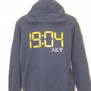 Alpha Kappa Psi Blue Number Hoodie
