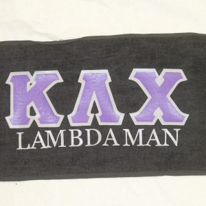 Kappa Lambda Chi Black Towel
