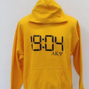 Alpha Kappa Psi Gold Number Hoodie