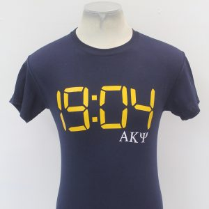 Alpha Kappa Psi Blue Number Tee