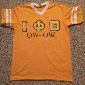 "Iota Phi Theta Custom ""Ow Ow Stripe Jersey"""