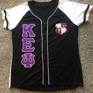 "Kappa Epsilon Psi ""Glitter up your letters"" Custom Glitter Flake Jersey"