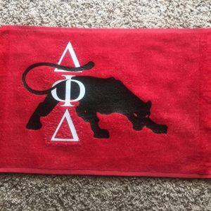 Delta Phi Delta Panther Towel