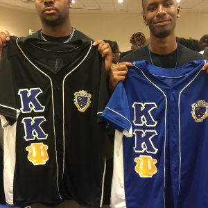 "Kappa Kappa Psi ""Heat Up Your Letters"" Black Jersey"