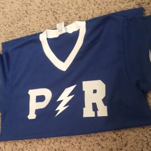 "P/R ""Stripe Up Your letters"" jersey"