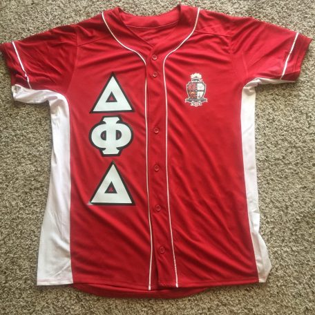 "Delta Phi Delta ""Heat Up Your Letters"" Unisex Custom Jersey"