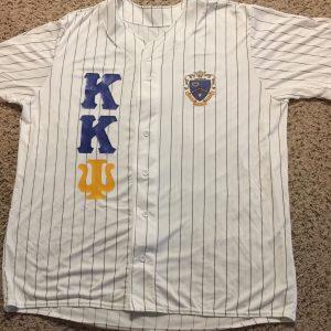 Kappa Kappa Psi White Baseball Jersey
