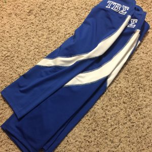 Tau Beta Sigma Sports Capri Blue and White