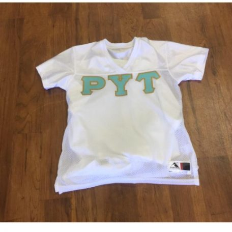 Rho Upsilon Tau Custom Glitter Football Jersey