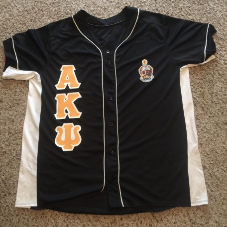 "Alpha Kappa Psi Heat Up Your Letters"" Jersey"