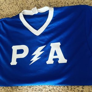 "P/A ""Stripe Up Your letters"" jersey"