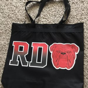 "RDO ""Fade To Black"" Zipper Bag"