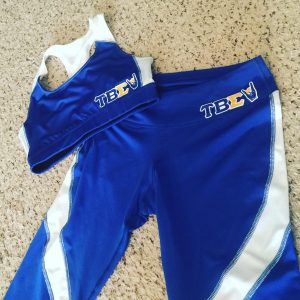 Tau Beta Sigma sports top and bottom set