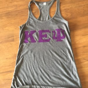 Kappa Epsilon Psi Gray Tank Top