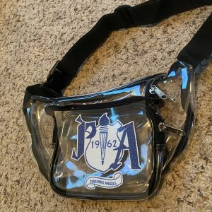 Pershing Angels Clear Glitter Fanny Pack